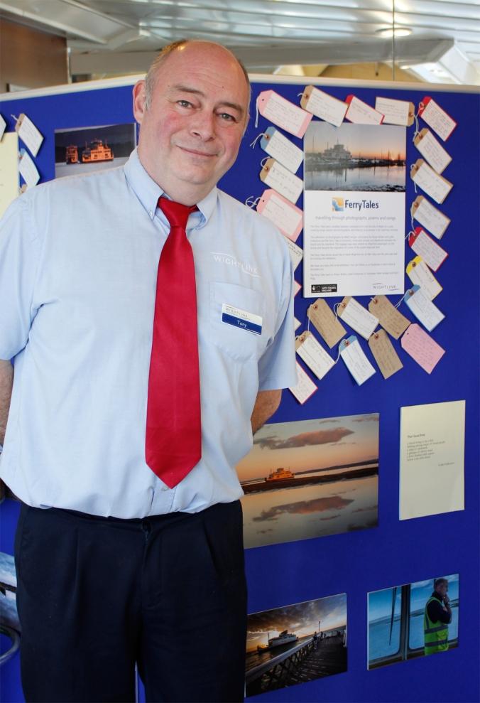 Steward Tony Edney and Ferry Tales